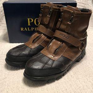 Polo Ralph Lauren Conquest HI II Mens Boots Sz 13D